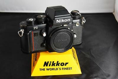 Nikon F3HP black body ONLY .. EXC   USA seller  JUST serviced