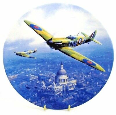 Airplane ~ Heroes Over Home Territory ~ Spitfire over St Pauls ~ Royal Doulton