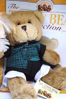 The TEDDY BEAR Collection No: 45 BASIL THE BUTLER with Duster & Magazine