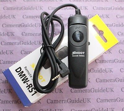 DMW-RS1 Remote Shutter Release Control for Panasonic Lumix DMC-GX8,GF1,FZ15,G80