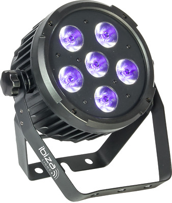 Projecteur Par À Led 6X6W Uv Puissant Dmx Led Uv Stroboscope&variateur Dj Light