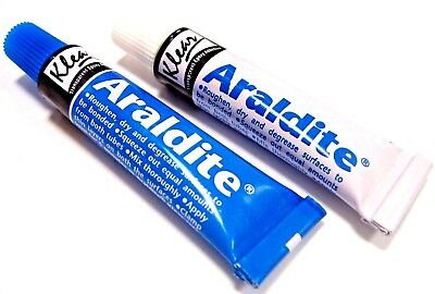 Araldite Glue Epoxy Resin 2 Part Clear Epoxy Adhesive Transparent Quick Dry 26g