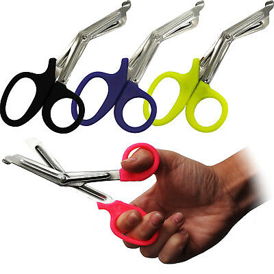Surgimax 16cm CE Medium Sized Tuff Tough Cut Scissors Shears Cutters 4 Colours