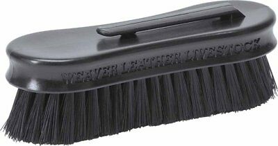 Weaver Leather Small Pig Face Brush, Black