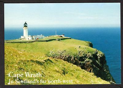 """CAPE WRATH""  Postcard Scotland Sutherland"