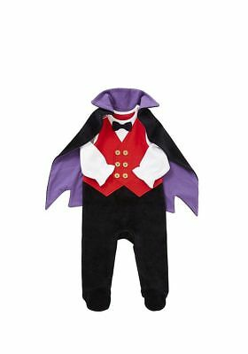 BABY Boys Halloween Dracula Costume /Fancy Dress/Outfit 0-24 Months