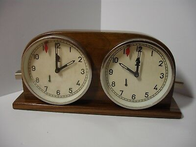 Mom Reloj Ajedrez Vintage Chess Clock Timer Schachuhr Working