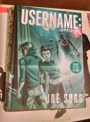 Username: Uprising Signed Graphic Novel Book By Joe Sugg SIGNED