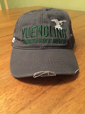 YUENGLING SINCE 1829 Distressed Look Hat AMERICA'S OLDEST BREWERY