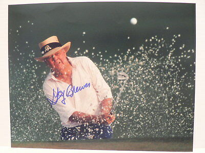 GAY BREWER Masters Champion AUTOGRAPH SIGNED PHOTO