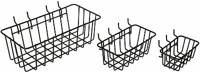 Dorman Hardware 4-9845 Peggable Wire Basket Set 3-Pack New