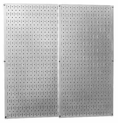 WALMP Wall Control 30-P-3232GV Galvanized Steel Pegboard Pack New