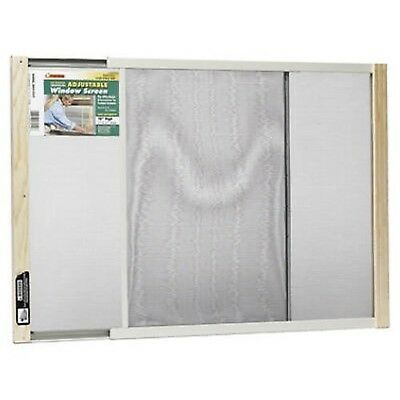 Frost King WB Marvin AWS1837 Adjustable Window Screen 18in High x Fits 21... New