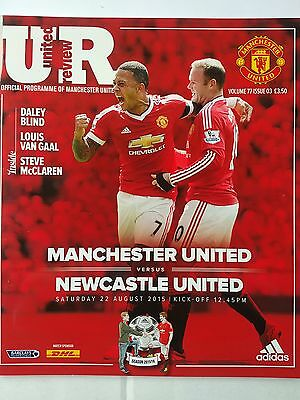 Manchester United v Newcastle United Barclays Premier League 22nd August 2015