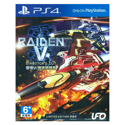 RAIDEN V Director's Cut Limited Edition PlayStation PS4 2017 Chinese English