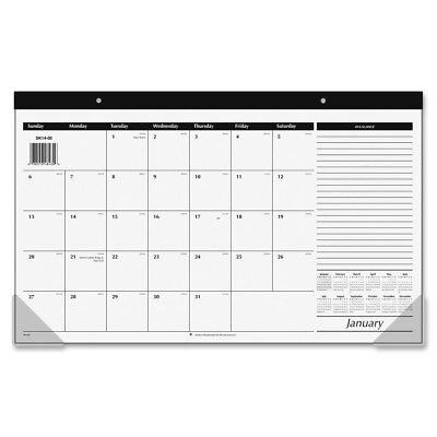 At-A-Glance Monthly Compact Full Year Desk Pad Calendar - AAGSK1400