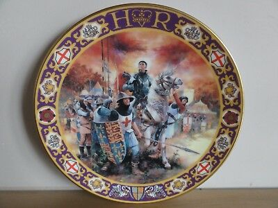 Royal Doulton Collectors Gallery Plate. Henry V At Agincourt