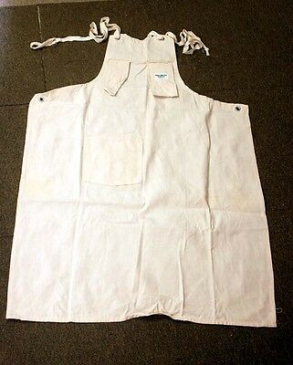Vintage Cotton Natural Canvas OLD OSH KOSH B'GOSH APRON WORK WEAR Union Made