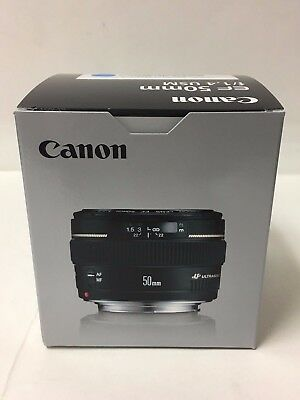 New Canon EF 50mm f /1.4 USM Lens 2515A003