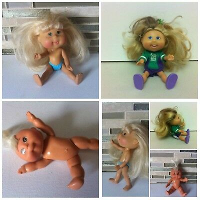 Cabbage Patch Kids Doll Hard Plastic Toy