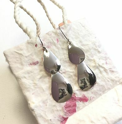 Earrings From Mexico Sterling Silver .925 Mayan Design Fair Trade Gift Handmade