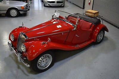 1954 MG T-Series  how Quality 1954 MG TF Roadster Complete Restoration Great Ownership