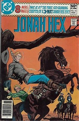 JONAH HEX #42  Nov 80
