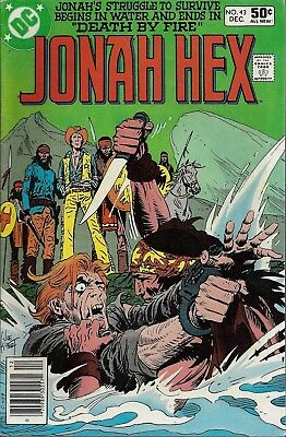 JONAH HEX #43  Dec 80