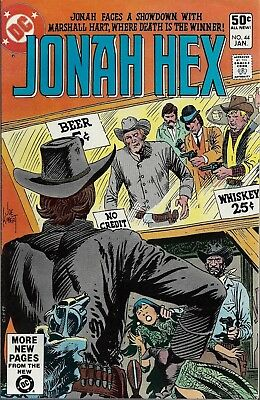 JONAH HEX #44  Jan 81