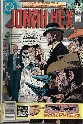 JONAH HEX #45  Feb 81