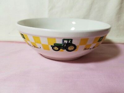 John Deere Soup Bowl Large 7""