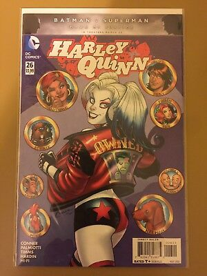 HARLEY QUINN # 26 - 1st PRINT (FIRST APPEARANCE OF RED TOOL) (2016) (DC)