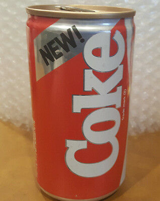 New Formula 1985 Vintage  Coke Cola Soda Pop OPENED Tab Can   Hot 98KUPD Contest