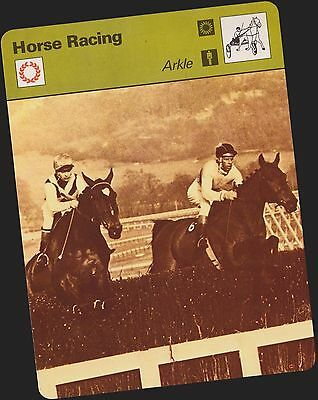 1979 Arkle Sportscaster Card #60-18 A Printing Mint From Cello Deck