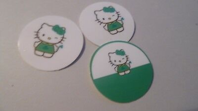 Pre Cut One Inch HELLO KITTY HOLIDAYS Bottle Cap Images FREE SHIP