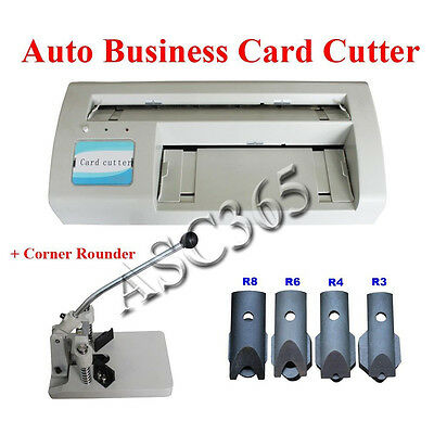 Corner Rounder +Electric Business Card Slitter +2000 Business Card Templates
