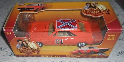 Nib The Dukes Of Hazzard General Lee Signed By Bo  69 Dodge Charger 1:25 Scale