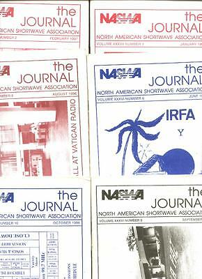 10 North American Shortwave Association Journals, 1996/1997