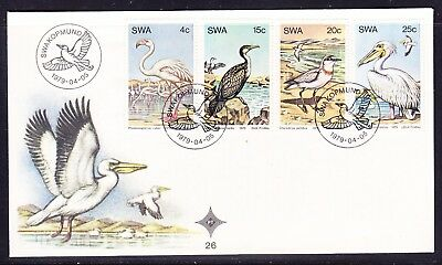 South West Africa 1979 Birds First Day Cover - Unaddressed #26