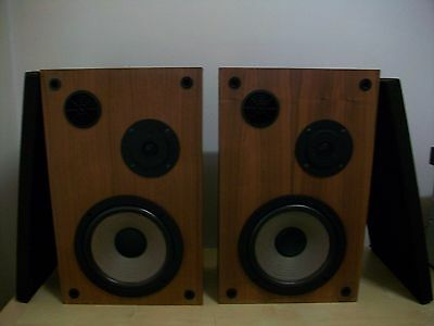 Vintage Teac Ls-170 2 Way Speakers  40W Made In Japan