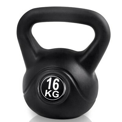 Kettle Bell Everfit 16KG Training Weight Fitness Gym Exercise Kettlebell Dumbell