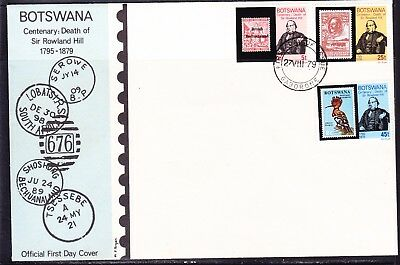 Botswana 1979 Rowland Hill  First Day Cover
