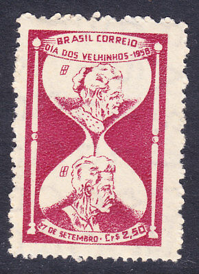 Brazil 1958 Old Peoples Day #994 Mint