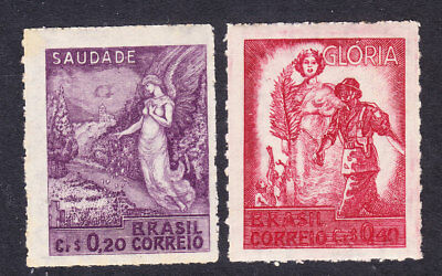 Brazil 1946 Victory Issues 711/12 Mint