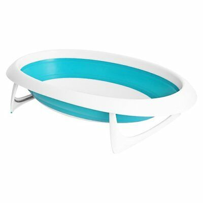 Boon Naked Collapsible Baby Bathtub BlueBlue/White
