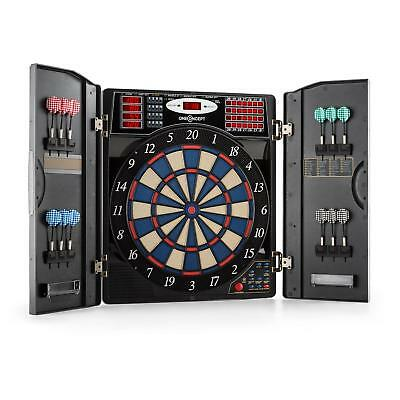 Electric Dartboard 38 Games Toy Home Indoor Play 12 Soft Dart Tip Wall Mount Led