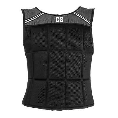Capital Sports Weighted Chest Vest 10Kg Load Heavy Strength Training Gym Athlete