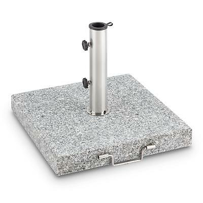 Heavy Duty 30 Kg Parasol Square Umbrella Stand Granite Sunshade Hotel Pool Home