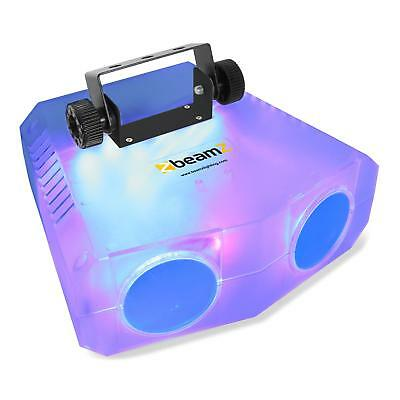 Beamz Clear Moonflower Lighting Effect Stage Disco Sound 114 Led Ir Remote