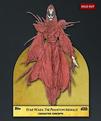 TOPPS Digital Star Wars Card Trader: The Phantom Menace Concept Art: Sith Witch